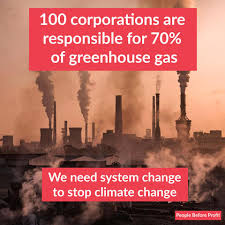 System Change Not Climate Change!